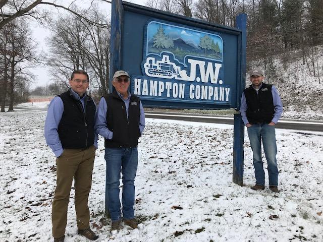 (L to R): Chuck Campbell, Johnny Hampton & Kevin Harward